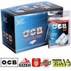 4080 FILTRI OCB SLIM 6 mm + CARTINE CORTE A SCELTA RIZLA OCB SMOKING