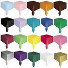 Plastic TABLECOVERS Table Cloth Cover Party Catering Event Tableware ALL COLOURS