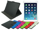 Leather Folding Case Stand with Inner Pocket Card Slot for Apple iPad Air