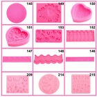 Silicone Mould Mold Ice Cube Chocolate Cake Cupcake Muffin Soap Candy Mold DIY A