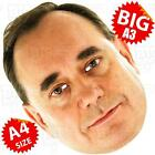 ALEX SALMOND BIG Face Mask A3 & A4 - PARTY SCOTTISH NATIONAL SNP CAMERON