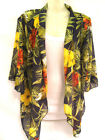 NEW WOMENS LADIES BOHO RETRO KIMONO HIPPIE LOOSE CAPE JACKET SHAWL VINTAGE