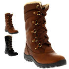 Womens Timberland Mount Hope Mid Earthkeeper Winter Fur Mid Calf Boots UK 3-9