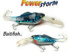 """Waggle Tailed Rattling Diving Lure BAITFISH - 6""""/30g Sea Pike Bass Fishing  RTD2"""