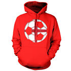 England St George Football - Unisex Hoodie / Hooded Top - Footballer - 9 Colours