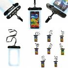 Clear Waterproof Underwater Pouch Dry Bags Case Cover For Mobiles Phones MP3/4/5