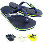Unisex Kids Havaianas Logo Slip On Summer Beach Sandal Flip Flops UK Sizes 8-4