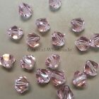 6mm Rosaline (508) Genuine Swarovski crystal 5328 / 5301 Loose Bicone Beads