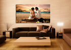 Your PERSONALISED Photo Picture On Canvas Print - Box Framed 46x30in 30x30in