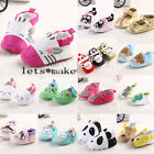 Cute Animal Girl Infant to 18 Months Toddler colorful Soft Sole Crib Baby Shoes