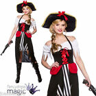 LADIES CARIBBEAN PIRATE WENCH PRINCESS FANCY DRESS PARTY COSTUME BOOK WEEK DAY
