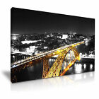 CITYSCAPE Europe Portugal 1 Canvas Framed Printed Wall Art - More Size