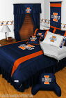Illinois Illini Bed in a Bag Twin Full Queen King Comforter