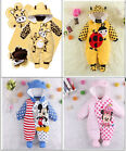 Hot New Baby Girls Boys Romper Coverall Clothes 1 Piece Autumn Winter Size 0-12M