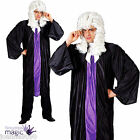 Adult Joke High Court Judge Barrister Lawyer Stag Robe Gown Fancy Dress Costume