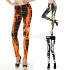 Women Retro Gothic Punk Leggings Pants Trousers Wholesale S-XL 3 Colors