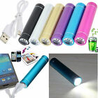 2600mAh Portable Battery Charger Power Bank with Flashlight Torch For Phones