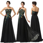Homecoming Long Evening Formal Bridesmaid Party Prom Lady Dresses Gown Size 6~20