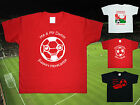 MORECAMBE Football Baby/Kids/Children's T-shirt Top Personalised-Any colour/team