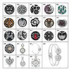1PC Snap Button Pendant Bracelet Fit DIY Snap Button Setting Fashion Jewelry