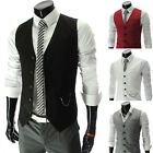 M22 Fashion Slim Single-breasted Handsome Men's Casual Vest Casual Waistcoat