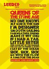 Queens Of The Stone Age Leeds Festival Saturday 23rd August 2014 Set List Poster