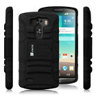 For 2014 LG G3 Smart phone Holster Kickstand Clip Case Cover w/ Screen Protector