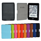 "Paint Edge PU Folding Folio Smart Case Cover For 6"" Amazon Kindle Paperwhite"