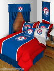 Texas Rangers Comforter & Sheet Set Sidelines Twin Full Queen King