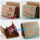 MOOMIN VALLEY LITTLE MY CANVAS BAG COLLECTION WALLET 2-FOLD SHORT WALLET/ BOX