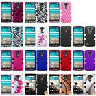 New Hot Color Thin Skin TUFF Hybrid Phone Protector Case Cover For LG G3