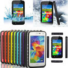 WATERPROOF ShockProof DustProof Hard PC Case Cover For Samsung Galaxy S5 V i9600