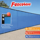 Blue 6'x50' Fence Privacy Screen Windscreen Shade Cover Mesh Fabric Tarp Pool