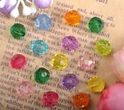 Wholesale Mixed Colours Acrylic Loose Spacer Beads 6MM 8MM 10MM 12MM BE1053