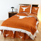 Texas Longhorns Comforter and Sham Set Twin Full Queen King