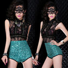 Hi- New Nightclub Bar Female Womens DS Costumes Stage Outfit Sexy Dance Clothing
