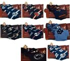 New in Box Comfy Throw NCAA & NFL Snuggie Style Sleeved Blankets