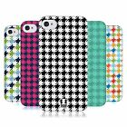 HEAD CASE HOUNDSTOOTH PATTERNS TPU GEL BACK CASE COVER FOR APPLE iPHONE 4