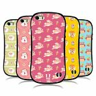 HEAD CASE DESIGNS CUTIE ANIMAL PATTERNS HYBRID TPU BACK CASE FOR APPLE iPHONE 5S