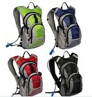 New Design Cycling Bike Bicycle 4L Backpack Bag Rucksack W/2L Hydration 4-Colors