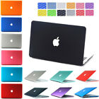 "Rubberized Hard Case for Macbook Air 13/11 Pro 13/15 Retina 12"" + Keyboard Cover"