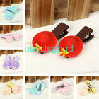 2Pcs Cute Hat Resin Hair Clip Hairpins Girls Student Children Child Baby Design