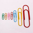 Set of Paper Clip Bookmark Clips Upick Size Note Colorful Office Supplies A0235