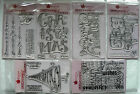 Woodware Large Clear Magic Stamps - Christmas