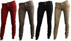 Womens Ladies New Creased Cuff Harem Denim Jeans (Sizes 6 - 14) COLOURS