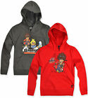 Boys Bakugan Hoodie Kids Hooded Sweatshirt Top New Red Grey Age 4 5 6 8 10 Years