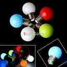 Energy saving 5 Colors 1W E27 Single Color LED Light Lamp Bulb Replacement DIY