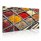 FOOD&DRINK Powders 4 3-B Canvas Framed Printed Wall Art ~ More Size