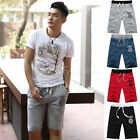 Fashion Men Cotton Shorts Pants Gym Sport Jogging Trousers New Casual Solid