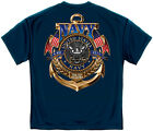 US Navy The Sea is Ours High Quality T shirt  Print Both Sides